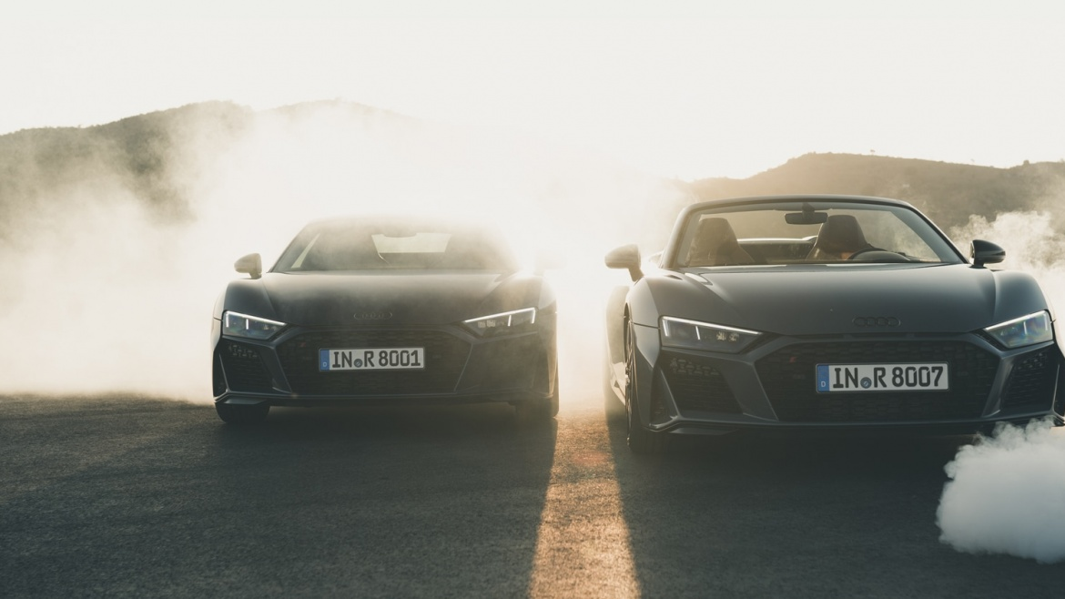 R8 A PLEASURE TO FOLLOW.